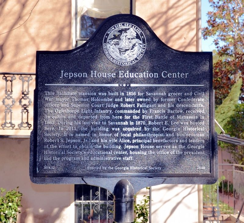 Jepson House Education Center Marker image. Click for full size.