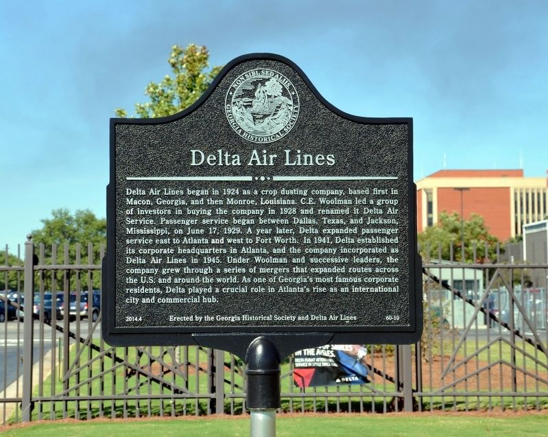 Delta Air Lines Marker image. Click for full size.