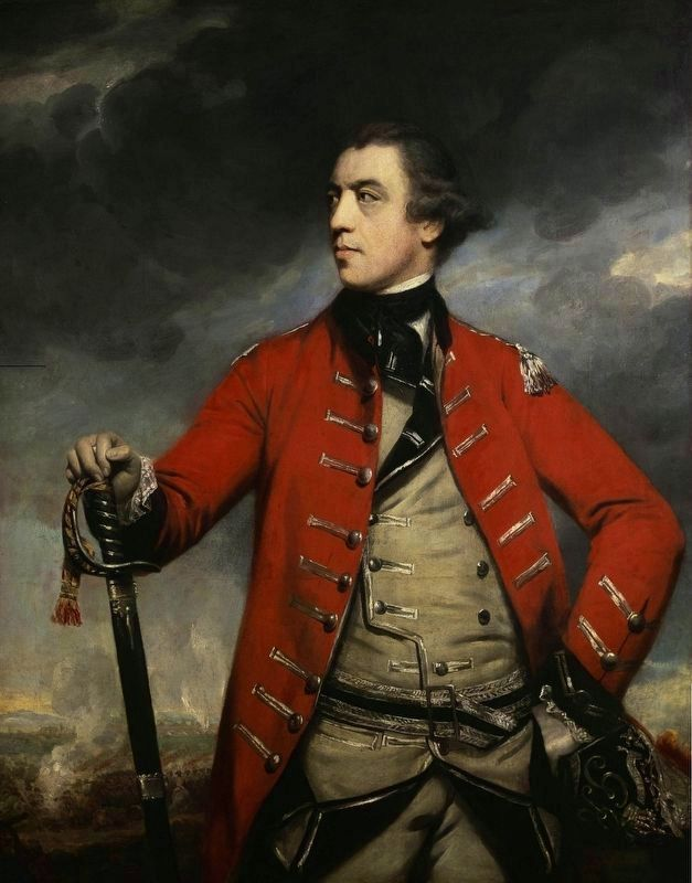 British General John Burgoyne (1722–1792) image. Click for full size.