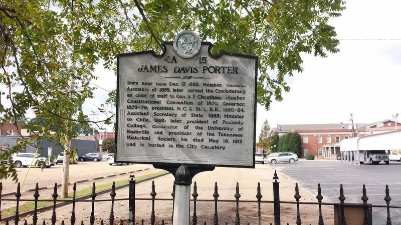 James Davis Porter Marker image. Click for full size.