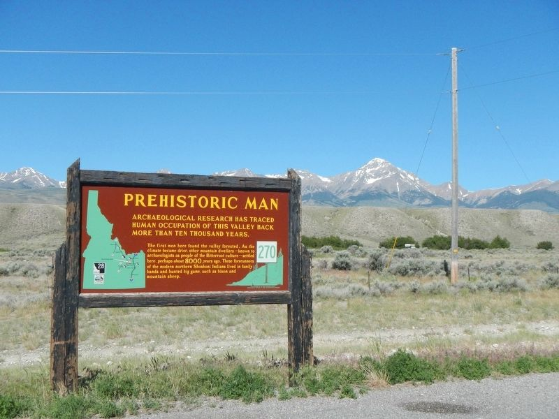 Prehistoric Man Marker image. Click for full size.