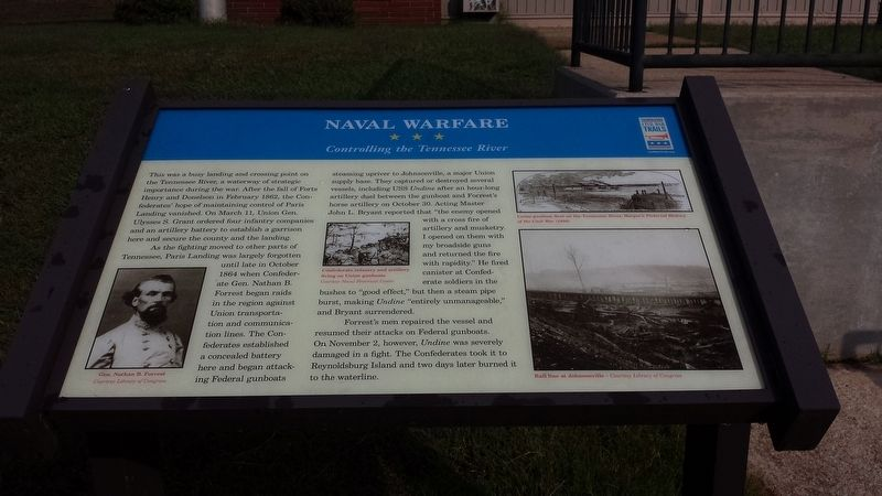 Naval Warfare Marker image. Click for full size.
