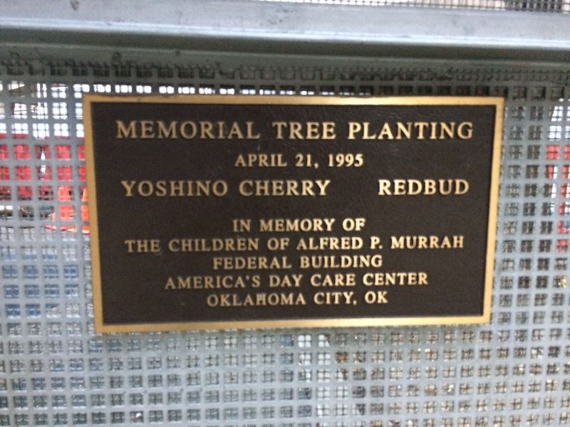 Memorial Tree Planting Marker image. Click for full size.