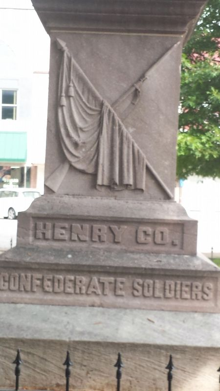 Confederate Soldiers Marker image. Click for full size.