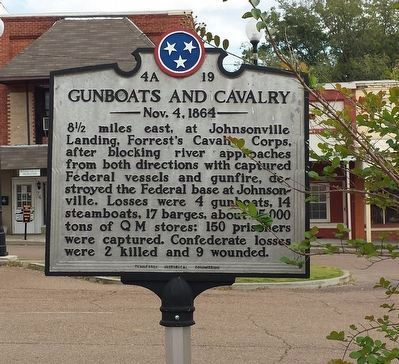 Gunboats and Cavalry Marker image. Click for full size.