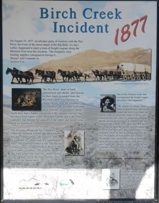 Birch Creek Incident 1877 panel image. Click for full size.