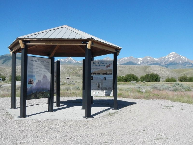 Birch Creek Campground Kiosk image. Click for full size.
