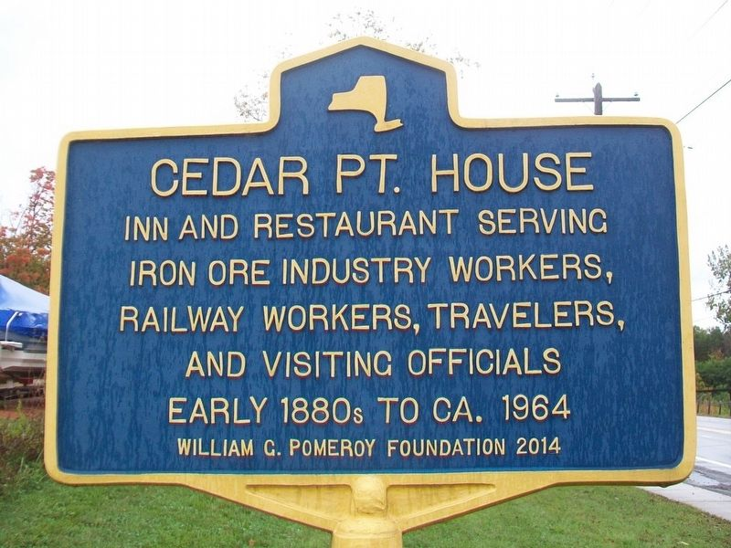 Cedar Point House Marker image. Click for full size.