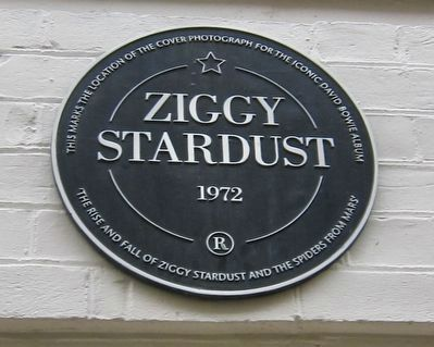 Ziggy Stardust Marker image. Click for full size.