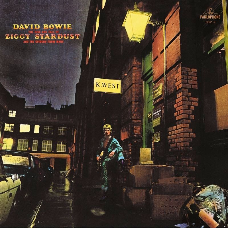 <i>Ziggy Stardust and the Spiders from Mars</i> Album Cover image. Click for full size.