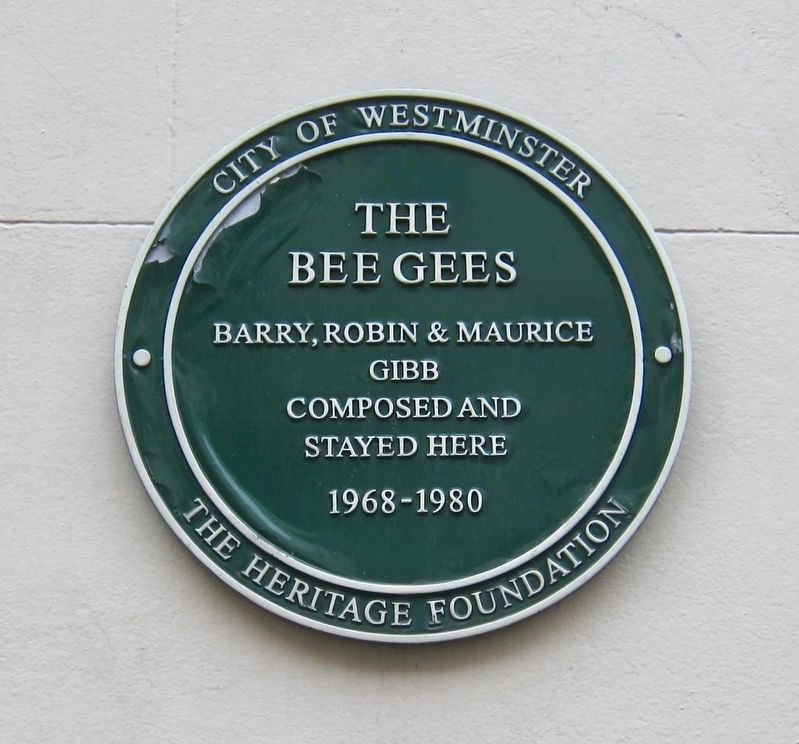 The Bee Gees Marker image. Click for full size.