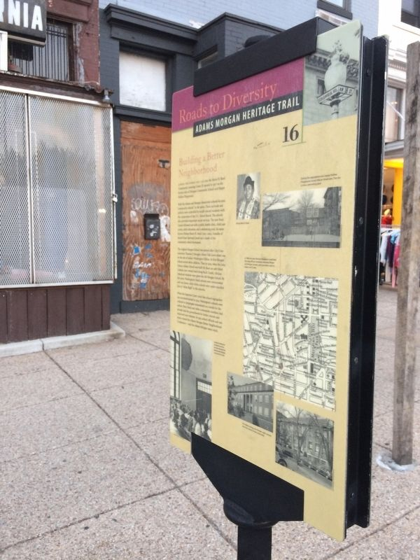 Building a Better Neighborhood Marker from a couple feet away image. Click for full size.