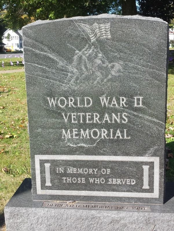 Pulaski World War II Veterans Memorial image. Click for full size.