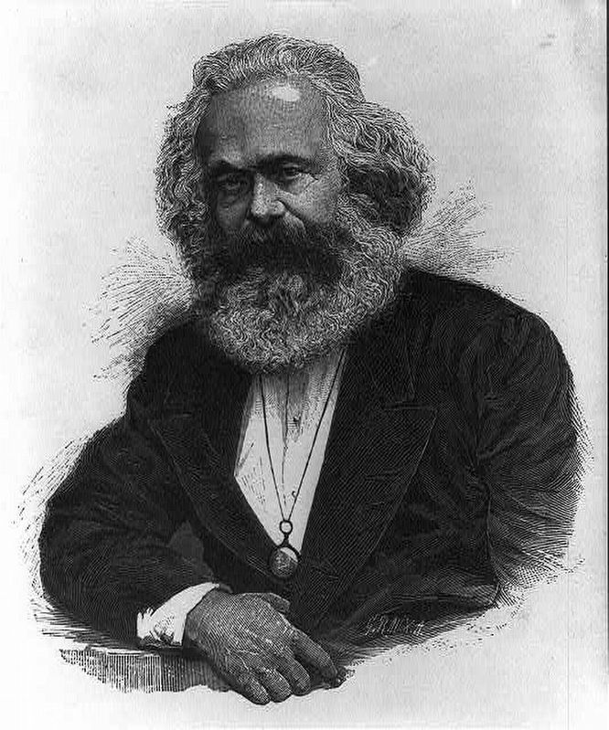 Karl Marx image. Click for full size.