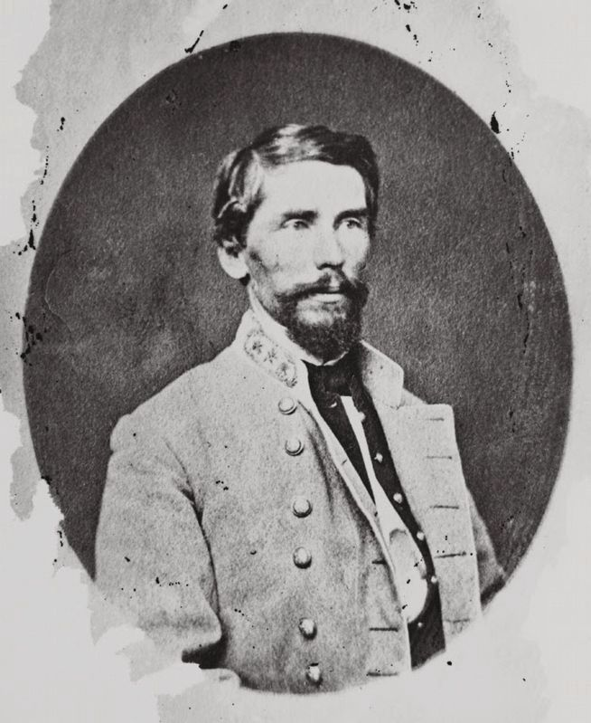 Major General Patrick Cleburne, CSA image. Click for full size.