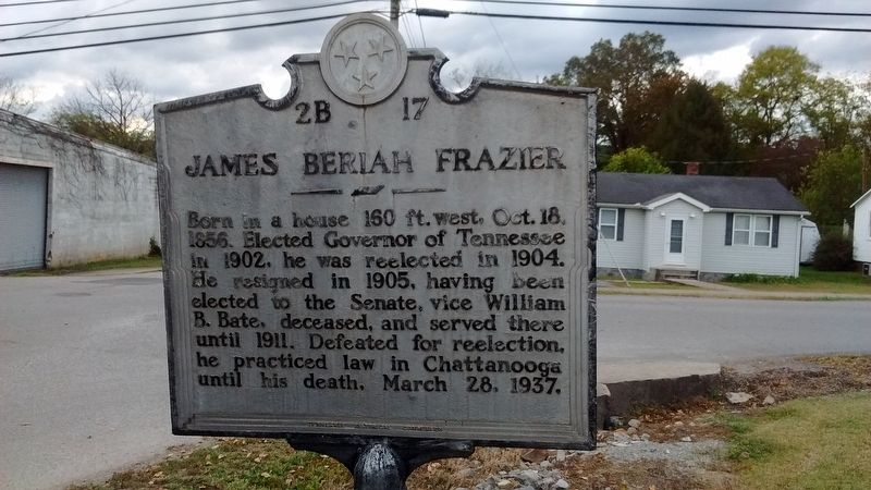 James Beriah Frazier Marker image. Click for full size.