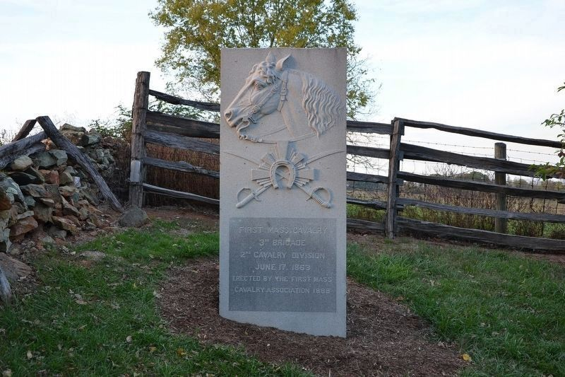 First Massachusetts Cavalry Monument image. Click for full size.