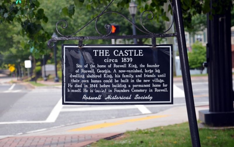 The Castle Marker image. Click for full size.