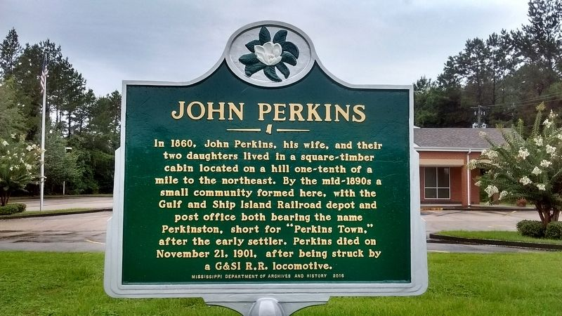 John Perkins Marker image. Click for full size.