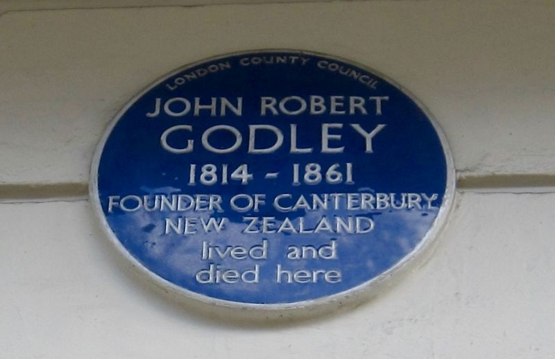 John Robert Godley Marker image. Click for full size.