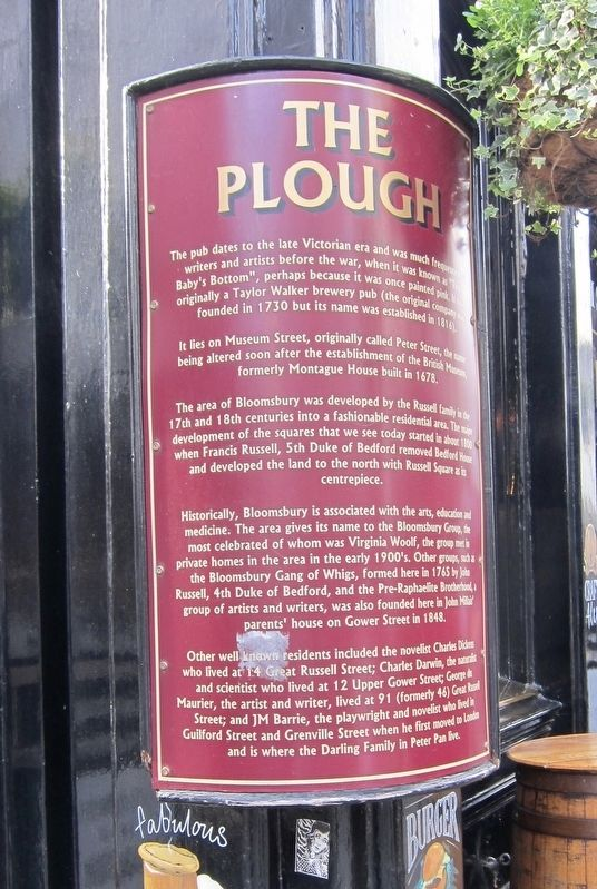 The Plough Marker image. Click for full size.