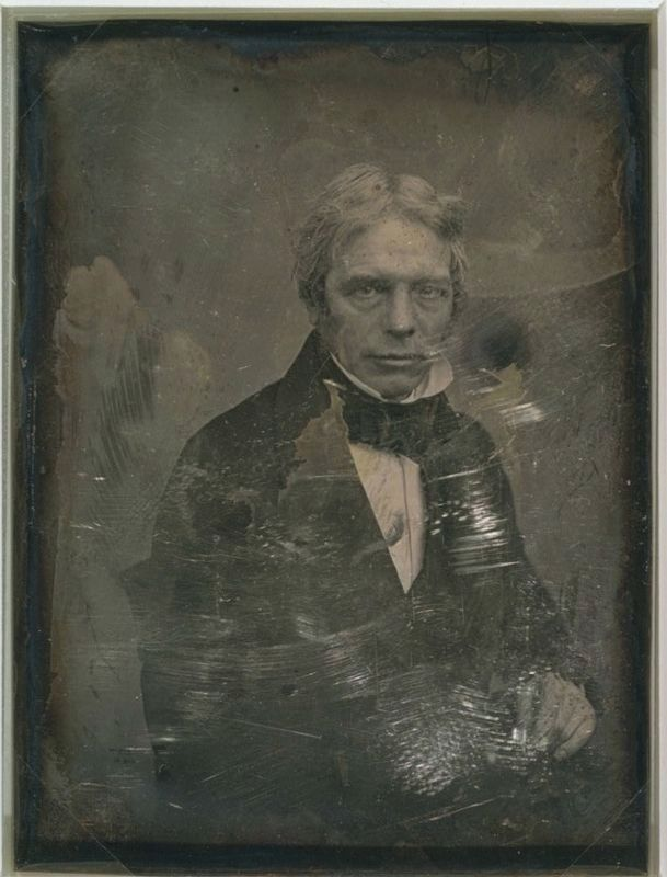 Michael Faraday image. Click for full size.