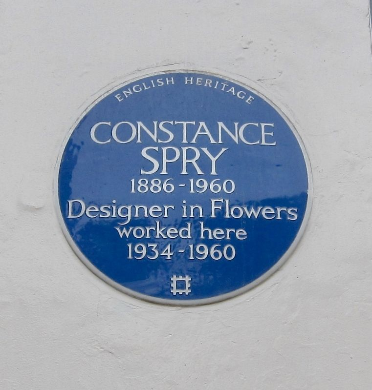 Constance Spry Marker image. Click for full size.