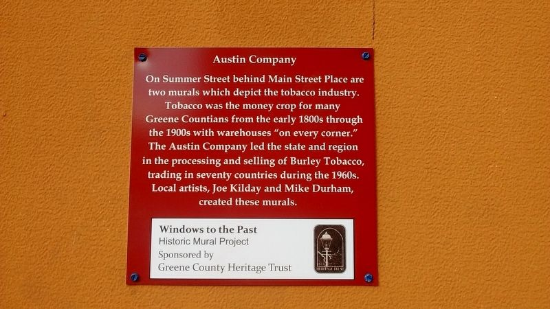 Austin Company Marker image. Click for full size.
