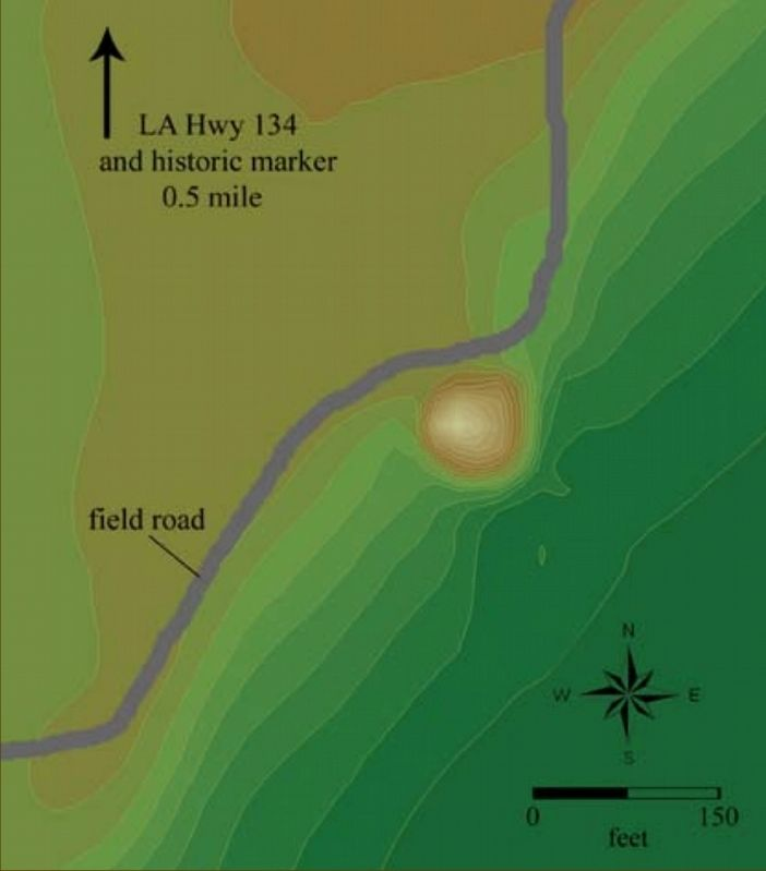 Lower Jackson Mound map image. Click for full size.