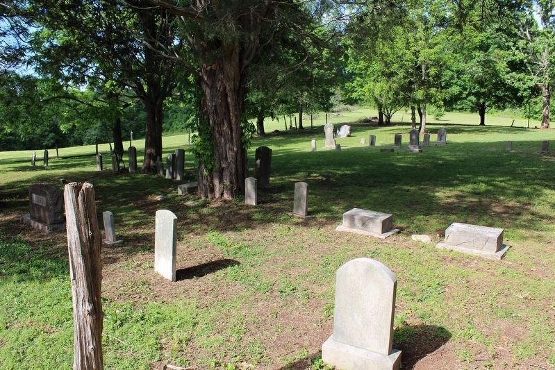 Old Mars Hill Cemetery image. Click for full size.