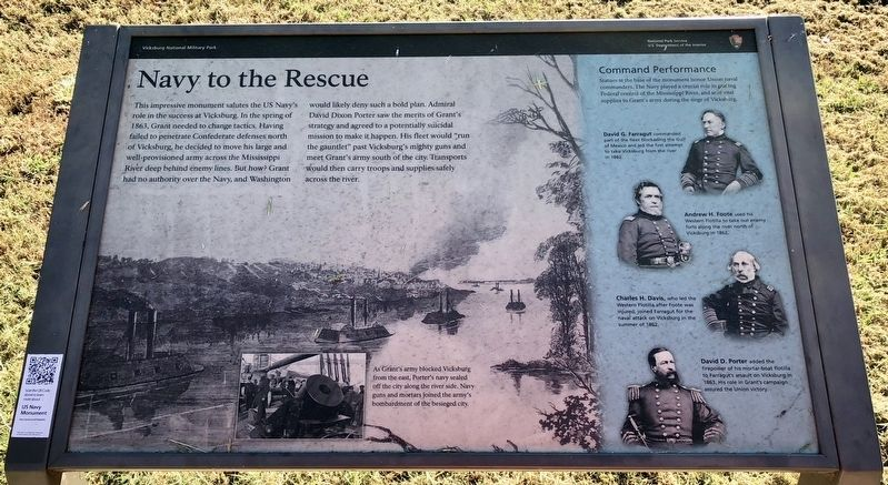 Navy to the Rescue Marker image. Click for full size.