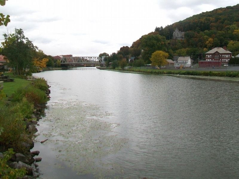 The Champlain Canal image. Click for full size.