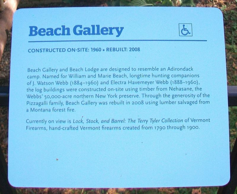 Beach Gallery Marker image. Click for full size.