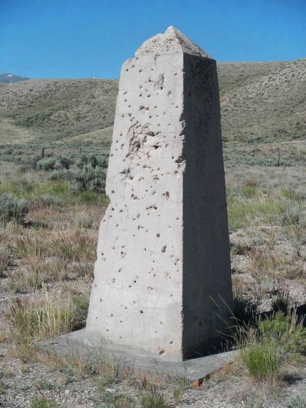 Massacred by Nez Perce Marker/Monument image. Click for full size.