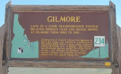 Gilmore Marker image. Click for full size.