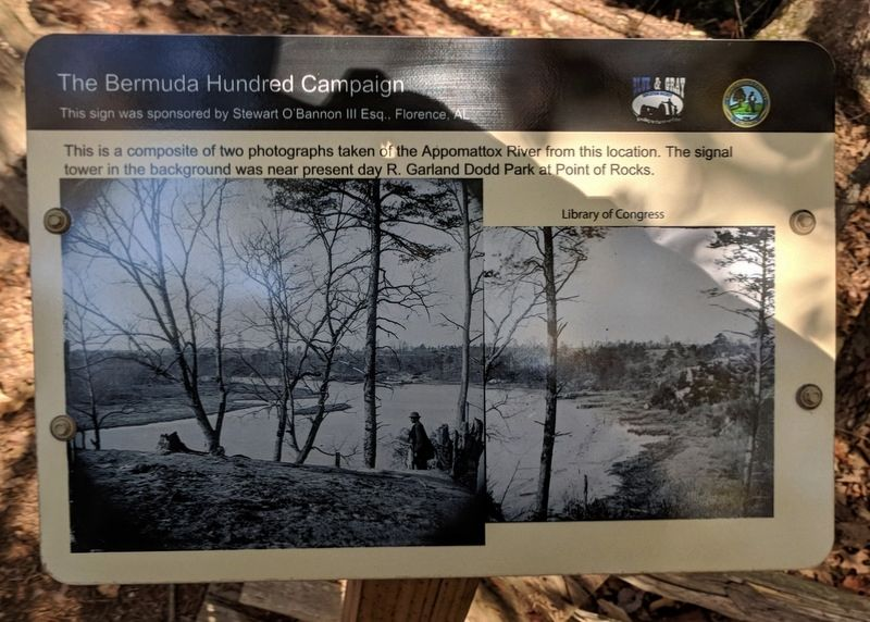 Appomattox River Overlook Marker image. Click for full size.