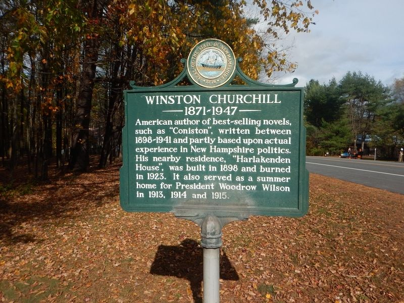 Winston Churchill Marker image. Click for full size.