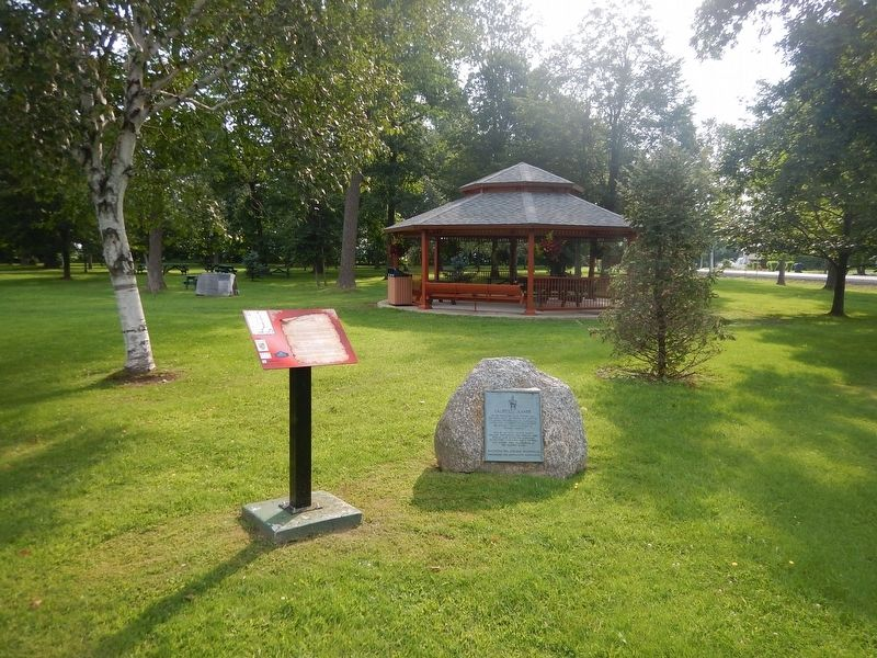 Wideview of Caldwell Manor Marker image. Click for full size.