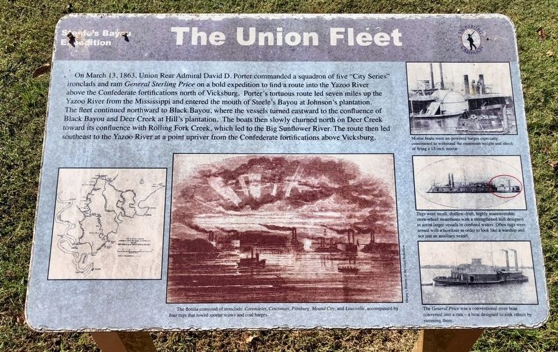 The Union Fleet Marker image. Click for full size.
