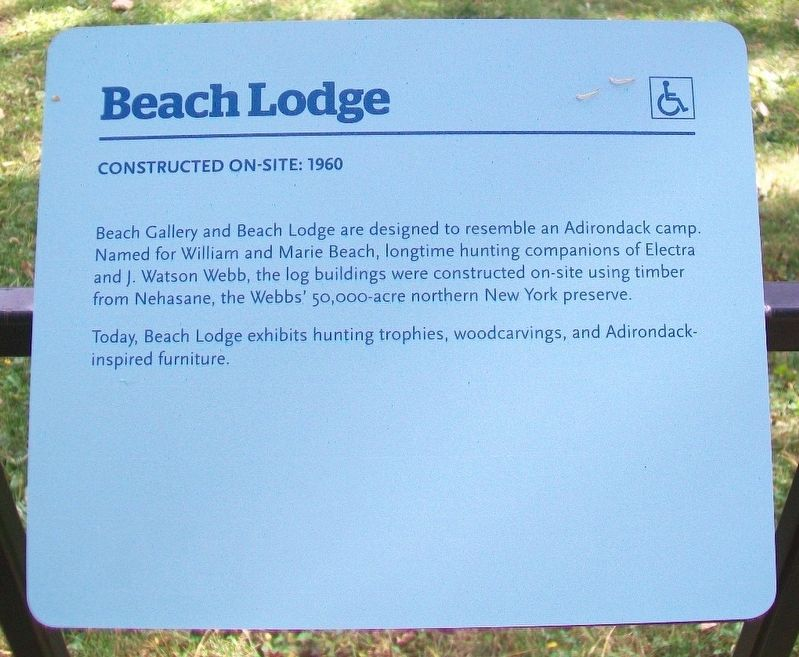 Beach Lodge Marker image. Click for full size.