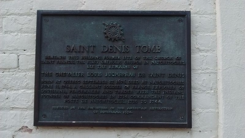 Saint Denis Tomb Marker image. Click for full size.