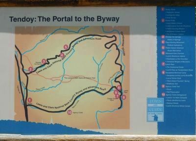 Tendoy, The Portal to the Byway image. Click for full size.