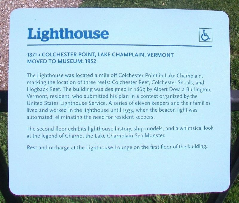 Lighthouse Marker image. Click for full size.
