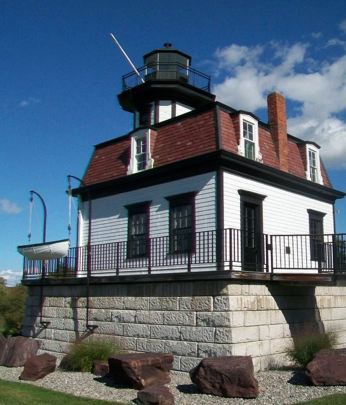 Colchester Point Lighthouse image. Click for full size.