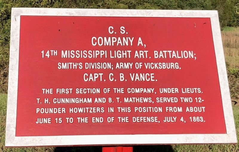 C.S. Company A, Marker image. Click for full size.