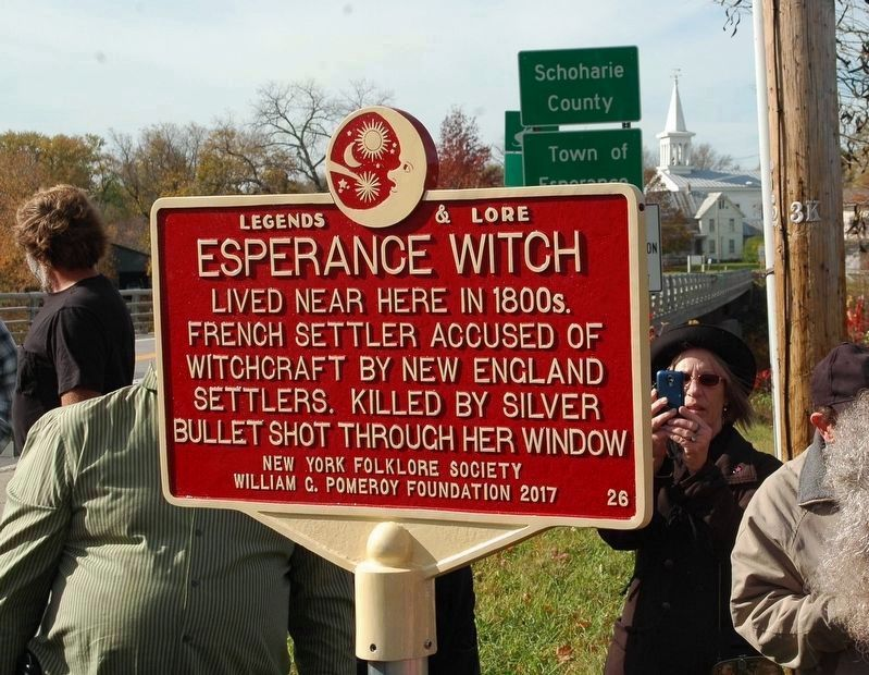 Esperance Witch Marker image. Click for full size.