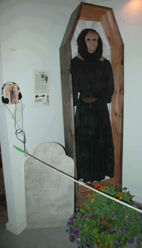 Esperance Witch Display at the Esperance Historical Museum image. Click for full size.