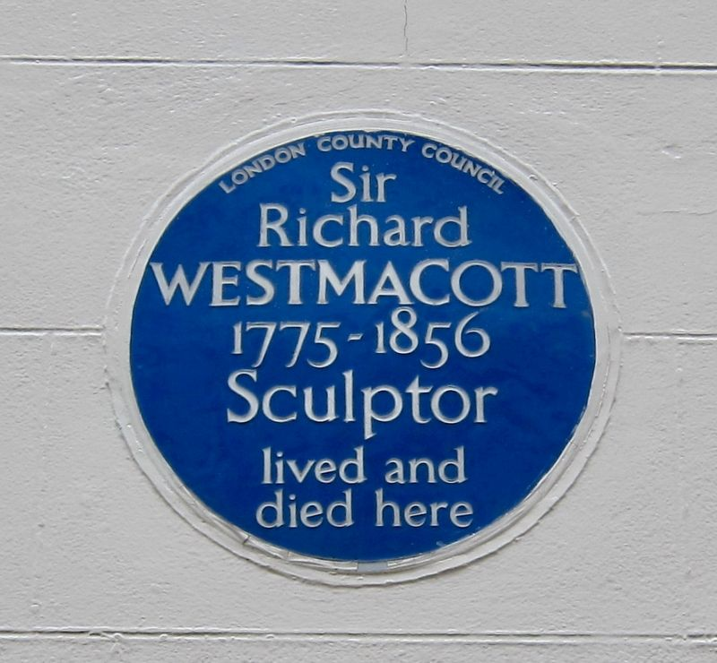 Sir Richard Westmacott Marker image. Click for full size.