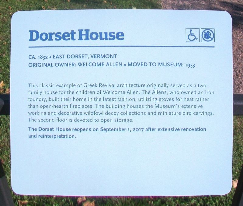 Dorset House Marker image. Click for full size.