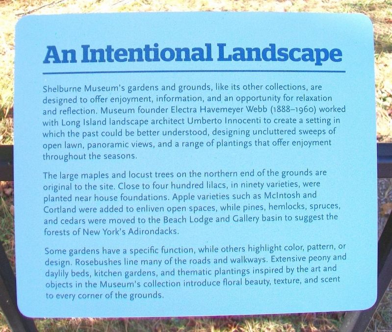 An Intentional Landscape Marker image. Click for full size.